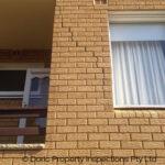 building inspection Sydney shows structural damage